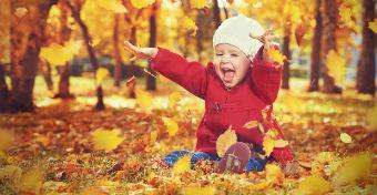 5 szuper őszi játék kisgyerekeknek