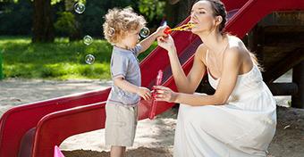 Játszótéri anyatípusok