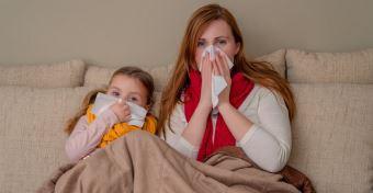 Influenza: terjed a vírus
