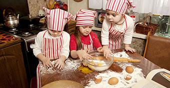 Gyerekekhez alkalmazkodó konyha
