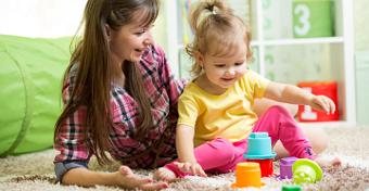 Így játsszunk a kisgyerekekkel