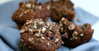 Mama gyorsétterme: Csokis-áfonyás-mogyorós muffin