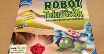 Ilyen, amikor az ovisok programoznak - Robot Teknősök társasjáték teszt
