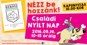 Csal�di Ny�lt Nap a HEROSZ Budapesti �llatotthonban