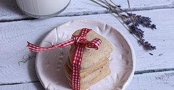 Csuda fincsi levendulás-mandulás keksz