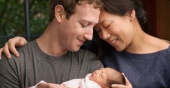 Zuckerberg óriási gesztust tett gyermeke születése apropóján