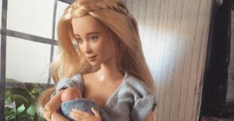 Elkészült az első szoptatós baba