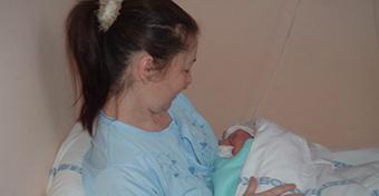 Negyvenhez közel is gyönyörű a szülés