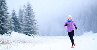 A tél a legjobb időszak a kocogásra