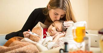 Influenzajárvány: duplázódott a beteg gyerekek száma