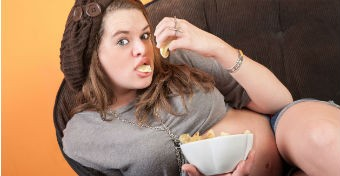 Ha sokat eszel, �ri�sb�bid sz�letik?