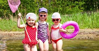 Mit csináljunk az ovis gyerekekkel nyáron?
