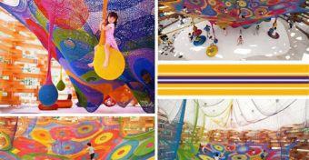 Fantasztikus színes terek gyerekeknek