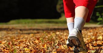 A séta csökkenti az étvágyat