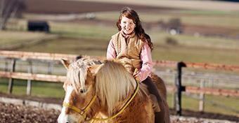 A lovaglás javítja a gyermekek kognitív képességét