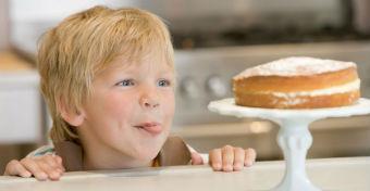 Ez t�rt�nik, ha 10 napig nem eszik a gyerek cukrot