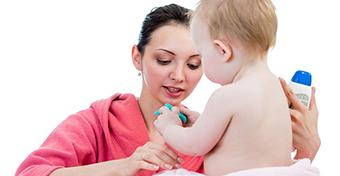Hogyan ápoljuk a baba hajlatait?