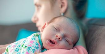 Életem legsötétebb napjai az első napok voltak a kisbabámmal
