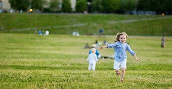 Ennyi mozgás is elég, hogy ne hízzon el a gyerek