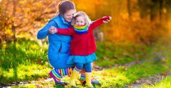 Így túrázz ősszel a gyerekkel!