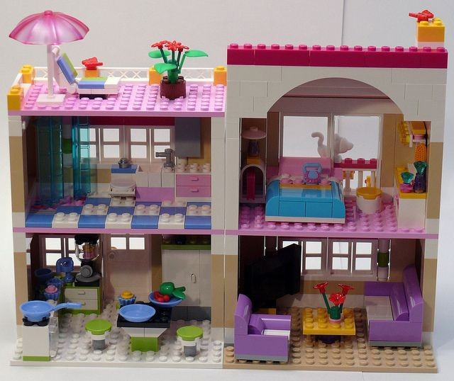lego friends 3065 instructions