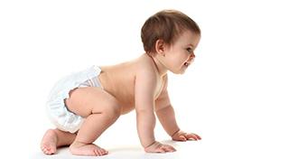 A baba megfelelő mozgásfejlődése másfél éves korig