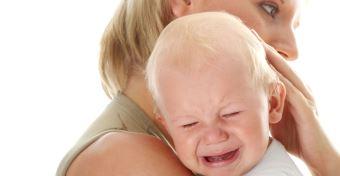 Az utolsó pillanatban érkezett a segítség a fuldokló babához
