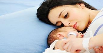 Rooming-in: együtt a babás szobában