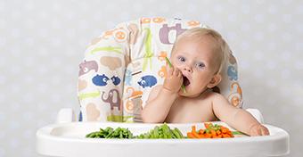 BLW: 30 kézzel ehető étel a babának