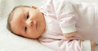 Kiütés az újszülöttnél - Erythema toxicum