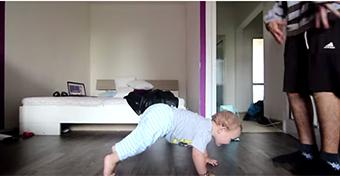 Egy baba fergeteges táncpárbaja - videó