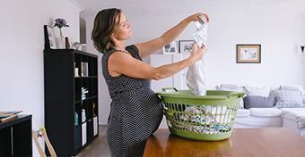 Ezért válts pamutra és illatmentes mosószerre, ha kismama vagy