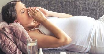 Mit tehetsz, ha megfáztál terhesség alatt?
