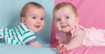 Kicsit nagyobb a lányok testsúlya, ha ikertestvérük fiú