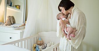 A baba alvása 0-3 hónapos korig
