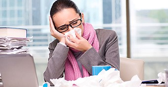 Az elhúzódó megfázás lehetséges okai