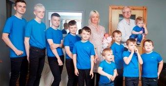 10 fiúk született, mire összejött a kislány is
