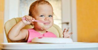 Ételdobáló kisgyerekből jó tanuló