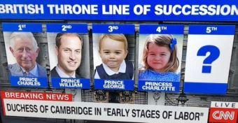 Megszületett Katalin hercegné harmadik gyermeke