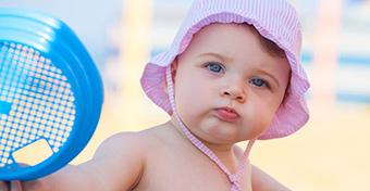 Nyári bőrápolás a babáknál, totyogóknál