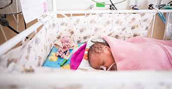 A Honvédkórházban is családbarát osztályon látják el a PICi babákat