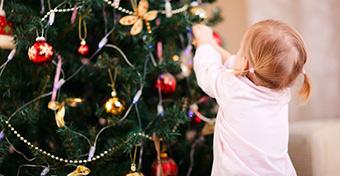 Ilyen a totyogóbarát karácsonyi díszítés