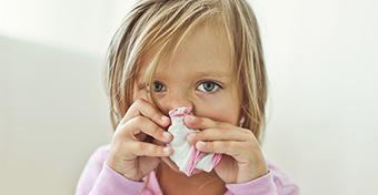 Ha influenzás a totyogó - Tünetek és teendők