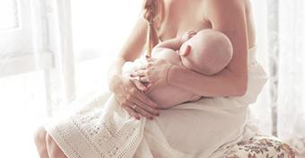 A 6 legjobb szoptatási póz