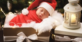 10 fontos szabály, ha egy újszülöttel töltjük az ünnepeket