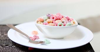 Túl sok cukrot esznek reggelire a gyerekek