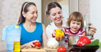Ha mosolyogva eszed a zöldséget, a gyerek is könnyebben rákap