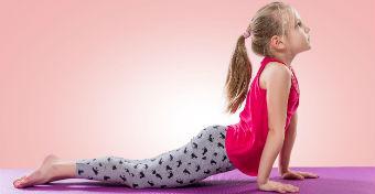 6 könnyű jóga póz gyerekeknek