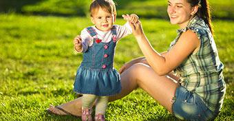 A baba első lépései: erre kell odafigyelni