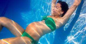 Lehet úszni terhesen is